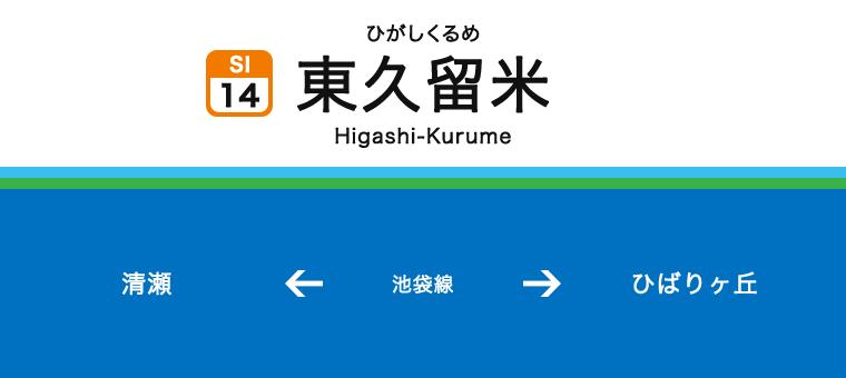 히가시쿠루메역