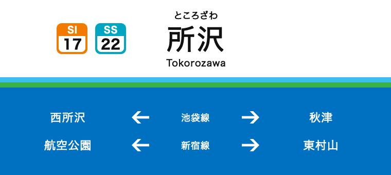 도코로자와역