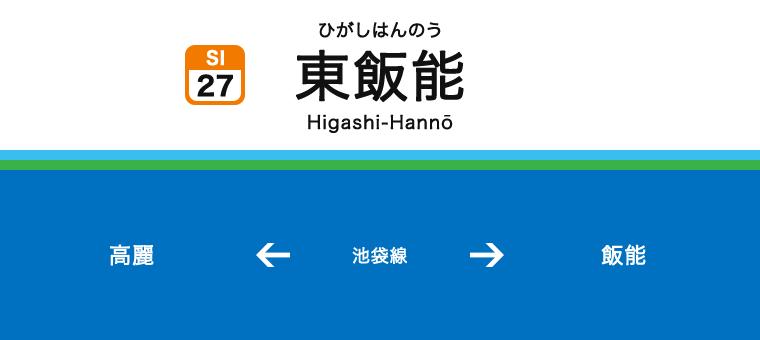 히가시한노역