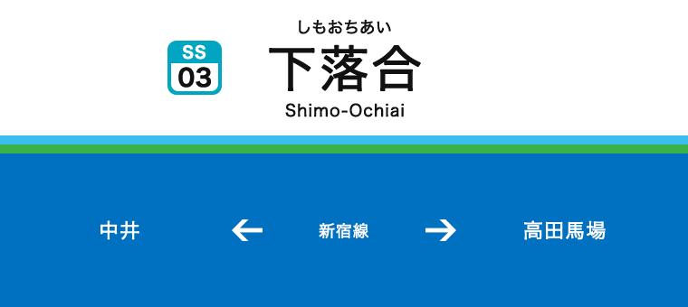 시모오치아이역
