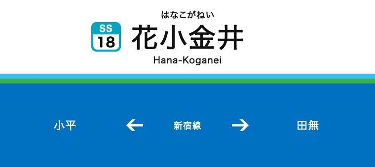 하나코가네이역
