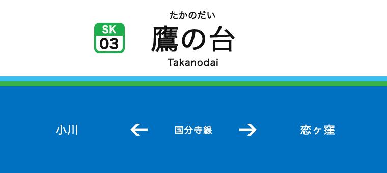타카노다이역
